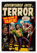 Golden Age (1938-1955):Horror, Adventures Into Terror #16 (Atlas, 1953) Condition: FN-....