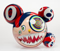 Fine Art - Sculpture, American:Contemporary (1950 to present), Takashi Murakami (b. 1962). Mr. Dob (Red), 2016. Paintedcast vinyl. 9-1/4 x 10-3/4 inches (23.5 x 27.3 cm). Edition of ...