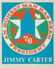 Robert Indiana (1928-2018) An Honest Man Has Been President: A Portrait of Jimmy Carter, 1980 Screenprint in colors on...