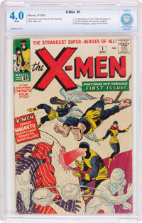 X-Men #1 (Marvel, 1963) CBCS VG 4.0 White pages