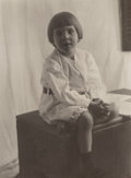 Photographs:Platinum-palladium, Attributed to John G. Bullock (American, 1854-1939). Portrait of a Boy, 1904. Platinum. 7 x 5-1/8 inches (17.8 x 13.0 cm...