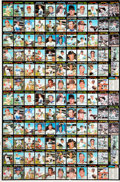 Baseball Cards:Sets, 1971 Topps Baseball 1st Series Uncut Sheet. ...