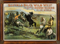 "William F. ""Buffalo Bill"" Cody's Wild West & Congress of Rough Riders of the World Poster: A Possibly Uniq..."