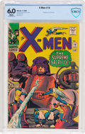 Silver Age (1956-1969):Superhero, X-Men #16 (Marvel, 1966) CBCS FN 6.0 White pages....