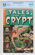 Golden Age (1938-1955):Horror, Tales From the Crypt #40 (EC, 1954) CBCS VG- 3.5 Off-white to whitepages....