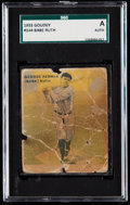 Baseball Cards:Singles (1930-1939), 1933 Goudey Babe Ruth #144 SGC Authentic. ...