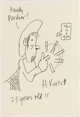 Harvey Kurtzman Pot-Shot Pete Original Sketch (1975)