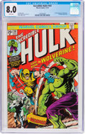 Bronze Age (1970-1979):Superhero, The Incredible Hulk #181 (Marvel, 1974) CGC VF 8.0 White pages....