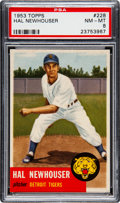 Baseball Cards:Singles (1950-1959), 1953 Topps Hal Newhouser (SP) #228 PSA NM-MT 8....
