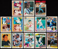 Autographs:Sports Cards, 1980-86 Signed Baseball Cards Collection (13). ...