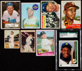 Baseball Cards:Lots, 1950's - 1980's Baseball HoFer Card Collection (8). ... (Total: 7items)