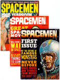 Magazines:Science-Fiction, Spacemen Group of 9 (Warren, 1961-65) Condition: Average GD....(Total: 9 Comic Books)
