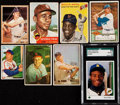 Baseball Cards:Lots, 1950's - 1980's Baseball HoFers Card Collection (8). ... (Total: 8items)
