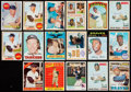 Baseball Cards:Lots, 1958-74 Topps Hank Aaron & Mickey Mantle Collection (17)....