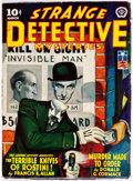Pulps:Detective, Strange Detective Mysteries - March 1943 (Popular) Condition:GD....