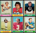 Football Cards:Lots, 1974 Topps Football Collection (1058)....
