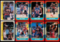 Basketball Cards:Lots, 1986 Fleer Basketball Collection (69) Plus Stickers (32). ...