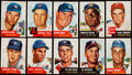 Baseball Cards:Lots, 1953 Topps Baseball Collection (216) With Stars. ...