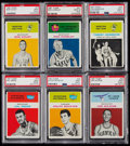 Basketball Cards:Lots, 1961 Fleer Basketball PSA Graded Collection (31)....