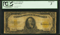 Large Size:Gold Certificates, Fr. 1173 $10 1922 Gold Certificate PCGS About Good 3.