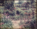 Photographs:Chromogenic, Stephen Shore (American, b. 1947). Garden at Giverny, circa1977-82. Dye coupler. 8 x 10 inches (20.3 x 25.4 cm). Signed...