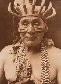 Edward Sheriff Curtis (American, 1868-1952) A Group of Four Photographs, 1924-32 Photogravure 7-1