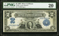 Large Size:Silver Certificates, Fr. 249 $2 1899 Silver Certificate PMG Very Fine 20.. ...