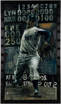 Autographs:Others, Don Larsen Signed Limited Edition Giclee by Stephen Holland.. ...