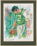 Autographs:Others, 1969 Joe Namath Signed Lithograph by LeRoy Neiman. . ...