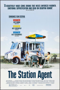 "The Station Agent & Other Lot (Miramax, 2003). One Sheets (2) (27"" X 40""). DS. Comedy. ... (Total: 2 I..."