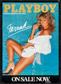 "Movie Posters:Miscellaneous, Farrah Fawcett & Other Lot (Playboy, 1978). Rolled, Very Fine-. Commercial Posters (2) (18"" X 25"" & 20"" x 28""). Miscellaneou... (Total: 2 Items)"