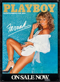 """Farrah Fawcett & Other Lot (Playboy, 1978). Rolled, Very Fine-. Commercial Posters (2) (18"""" X 25"""" &..."""