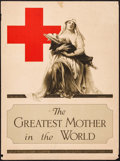 "Movie Posters:War, World War I Propaganda (The Atlantis Press, 1917). Poster (20.5"" X27.5""). ""The Greatest Mother in the World."" War.. ..."