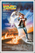 """Movie Posters:Science Fiction, Back to the Future (Universal, 1985). One Sheet (27"""" X 41""""). Drew Struzan Artwork. Science Fiction.. ..."""