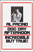 "Movie Posters:Action, Dog Day Afternoon (Warner Brothers, 1975). One Sheet (27"" X 41"") Advance. Action.. ..."