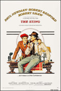 "Movie Posters:Crime, The Sting (Universal, 1973). One Sheet (27"" X 41"") Richard AmselArtwork. Crime.. ..."