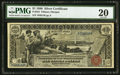 Large Size:Silver Certificates, Fr. 224 $1 1896 Silver Certificate PMG Very Fine 20.