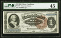 Large Size:Silver Certificates, Fr. 219 $1 1886 Silver Certificate PMG Choice Extremely Fine 45.....