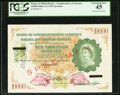 World Currency, Malaya and British Borneo Board of Commissioners of Currency $1000021.3.1953 Pick 7s Specimen.. ...