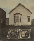 Photographs, Jerry Uelsmann (American, b. 1934). Untitled (Cased photograph and house), 1969. Tintype. 3 x 2-1/2 inches (7.6 x 6.4 cm...