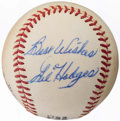 "Autographs:Baseballs, 1970-72 Gil Hodges ""Best Wishes"" Single Signed Baseball.. ..."