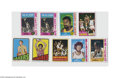 Basketball Cards:Lots, 1972-81 Topps Basketball Hall of Famers Lot of 9. Includes West,Erving (3), Abdul-Jabbar, Walton, Bradley, Chamberlain and...
