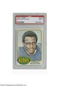 Football Cards:Singles (1970-Now), 1976 Topps Walter Payton #148 PSA NM 7. Strong example of thisimportant rookie card....