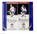 Hockey Collectibles:Others, Ted Lindsay and Lanny McDonald Signed Hockey Sticks. Pair of limited edition (each from a run of 350) sticks offer strong b... (2 )