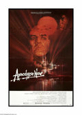 "Movie Posters:War, Apocalypse Now (United Artists, 1979). One Sheet (27"" X 41""). Thisis a vintage, theater used folded poster for this war dra..."