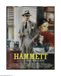 "Movie Posters:Mystery, Hammett (Warner Brothers, 1982). French Grande (47"" X 63""). This isan original theater-used poster to the mystery film dire..."