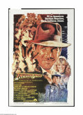 "Movie Posters:Adventure, Indiana Jones and the Temple of Doom (Paramount, 1984). ArgentinianOne Sheet (29"" X 43""). This is a vintage, theater used f..."