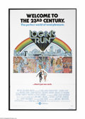 """Movie Posters:Science Fiction, Logan's Run (MGM, 1976). One Sheet (27"""" X 41""""). This is a vintage,theater used folded poster for this sci-fi film that was ..."""