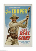 """Movie Posters:War, The Real Glory (United Artists, 1939). One Sheet (27"""" X 41""""). Thisis a vintage, theater used poster for this adventure war ..."""