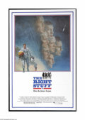 "Movie Posters:Adventure, The Right Stuff (Warner Brothers, 1983). One Sheet (27"" X 41"").This is a vintage, theater used poster for this docu space d..."